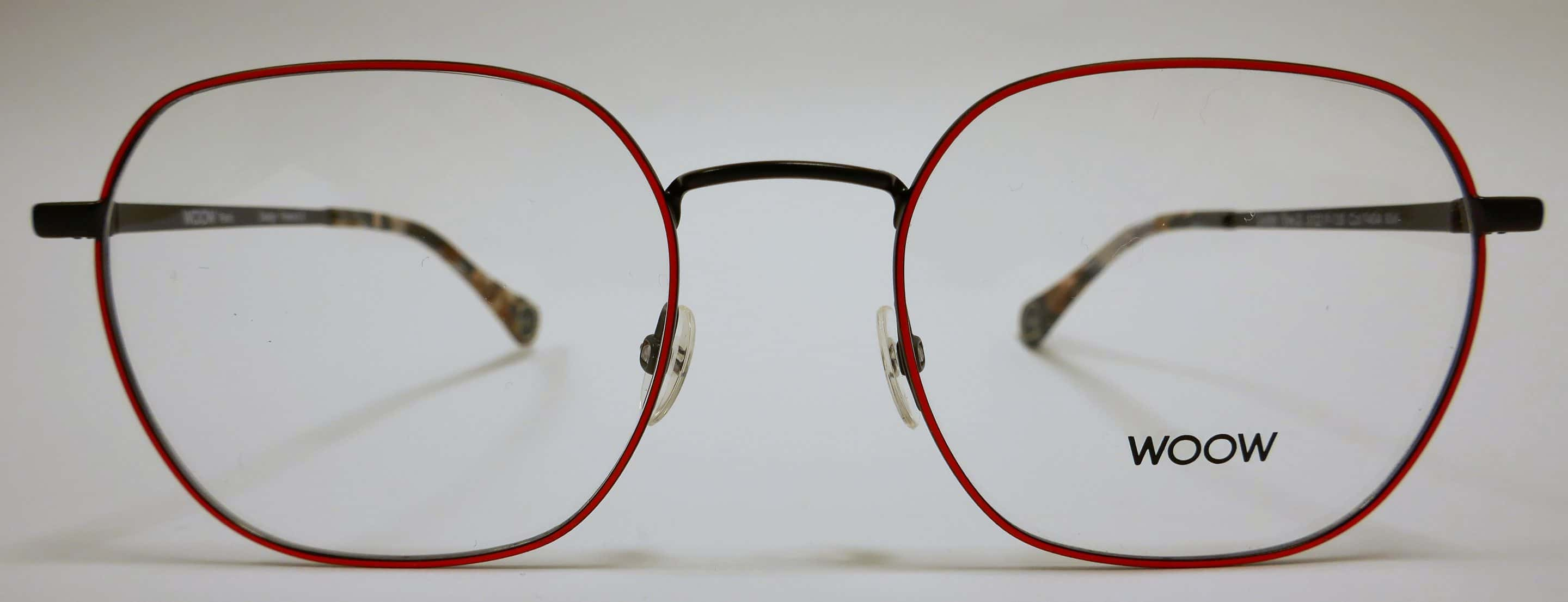 lunettes woow adultes fines rouges solesmes